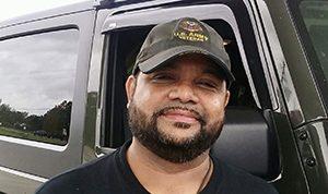 Veterans Response engineering specialist Pablo Soto.